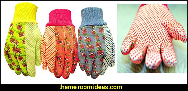 Women Soft Jersey Garden Gloves & Work Gloves