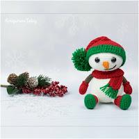 http://amigurumislandia.blogspot.com.ar/2019/11/amigurumi-muneco-de-nieve-de-navidad-amigurumi.html