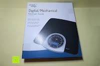 Verpackung: Smart Weigh Digitale/Mechanische Leichtgewicht-Küchen- und Nahrungsmittelwaage mit LCD-Display und Zifferblatt, schwarz