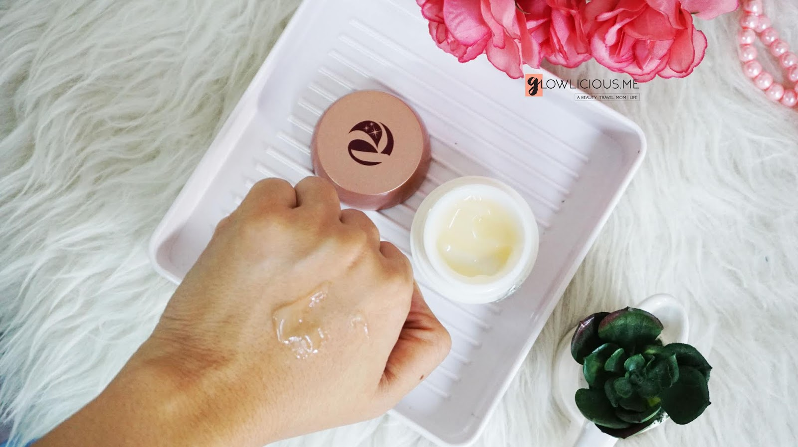 Rubiena BrighteningNight Moisturizing Gel