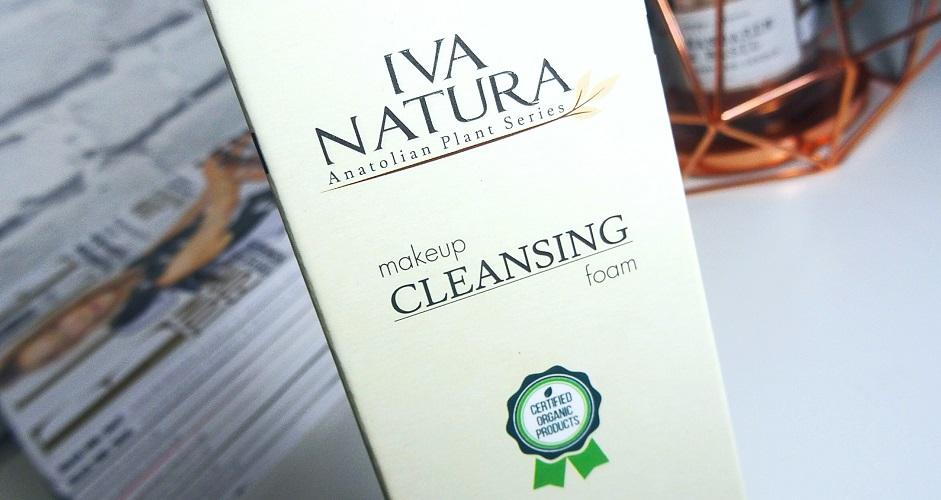 IVA NATURA, pianka do demakijażu, naturalne, kosmetyki organiczne, dla wegan, polska firma, cera tradzikowa, demakijaż twarzy, naturalne oczyszczanie, trądzik