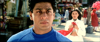 Shah Rukh Khan crying-watch eye brows and mouth