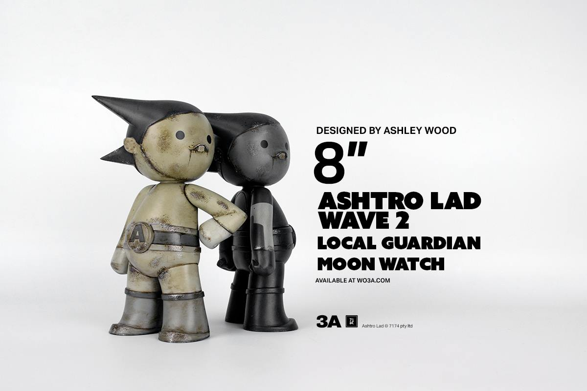 0fbf7f5ce7 ASHTRO LAD Wave Two by 3A Toys for March 22nd Pre-order