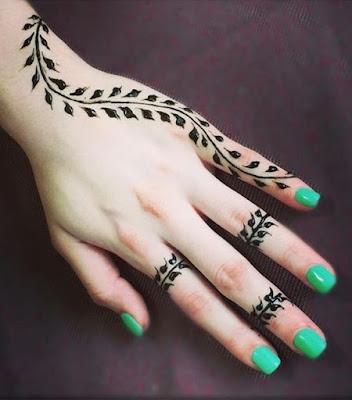 Mehndi Design Easy And Beautiful