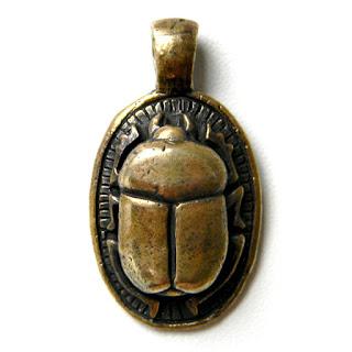 бронзовое украшение жук скарабей купить в интернет магазине