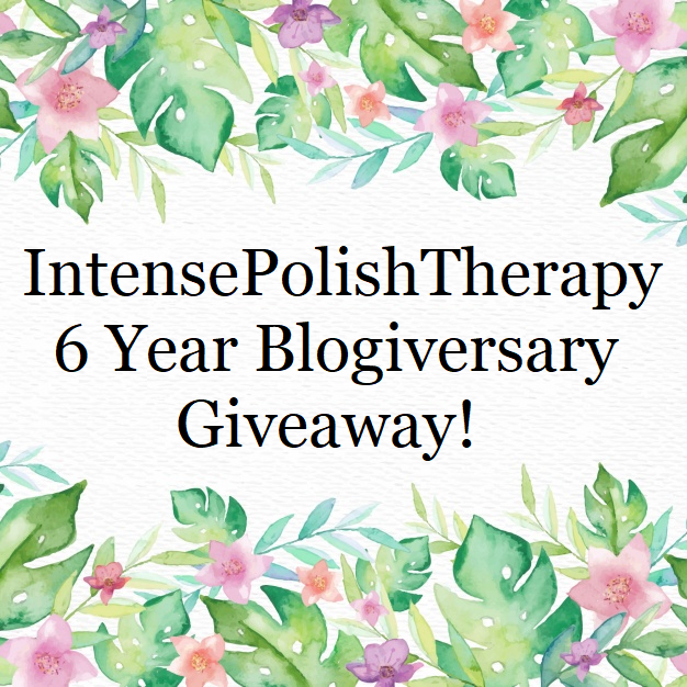 6 Year Blogiversary Giveaway!