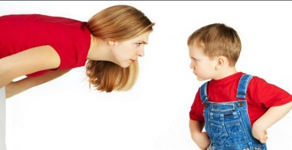Tips Menghadapi sikecil yang suka marah-marah