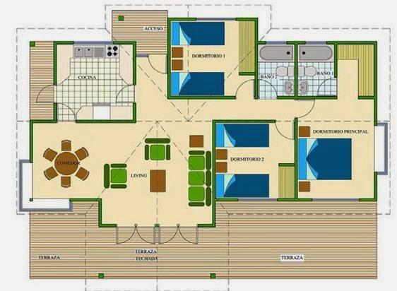 Planos de casas peque as como dibujar planos de casas gratis for Como disenar una casa gratis