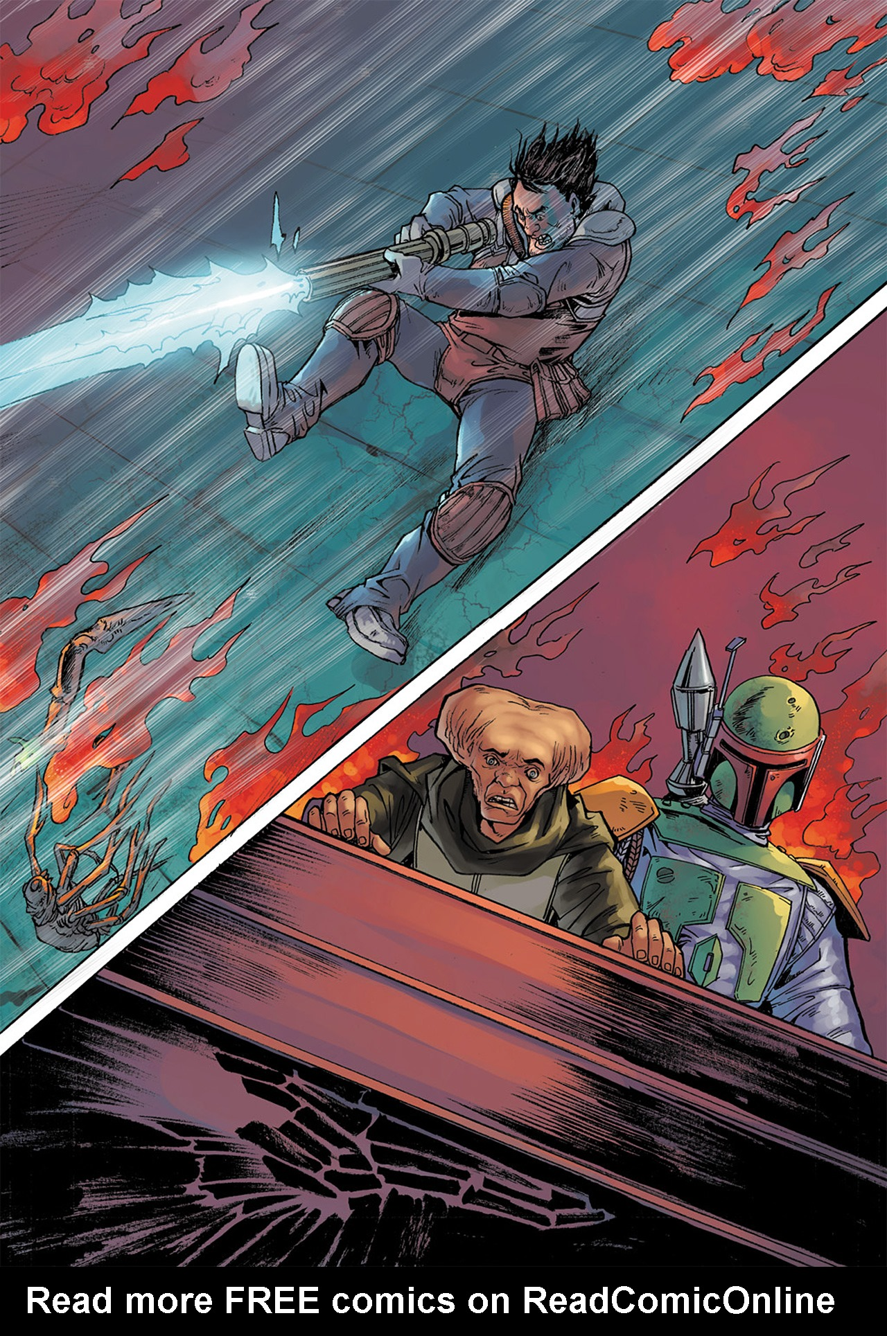 Read online Star Wars Adventures comic -  Issue # Issue Boba Fett and the Ship of Fear - 69