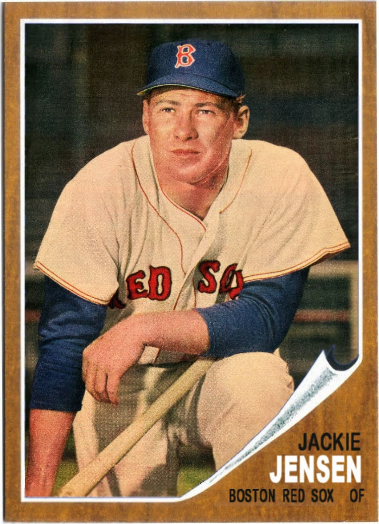 Cards That Never Were 1962 Topps Jackie Jensen 30 Tribute