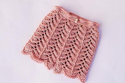 8 - Crochet IMAGEN Pantalón a juego con chambrita a crochet muy fácil y rápida. MAJOVEL CROCHET