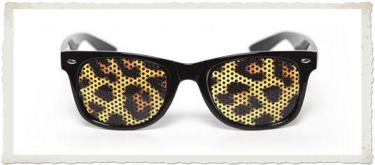 occhiali da sole nunettes lenti animalier