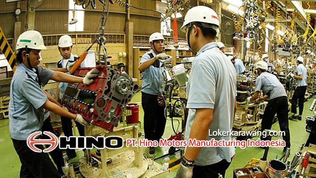 Lowongan Kerja PT. Hino Motors Manufacturing Indonesia Purwakarta Tahun 2018