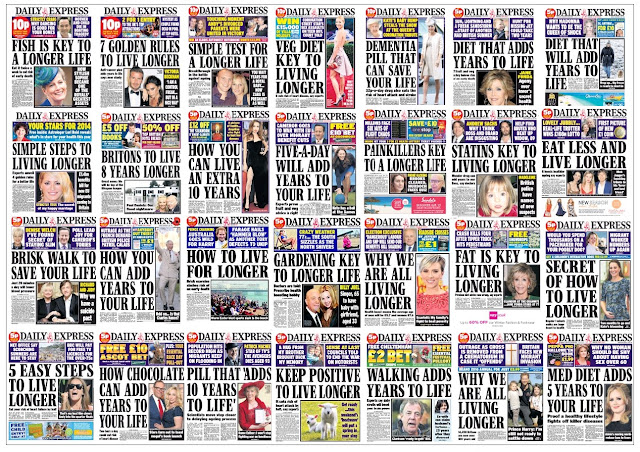 express live forever front pages