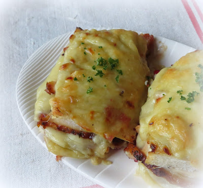 Turkey Croque Monsieur