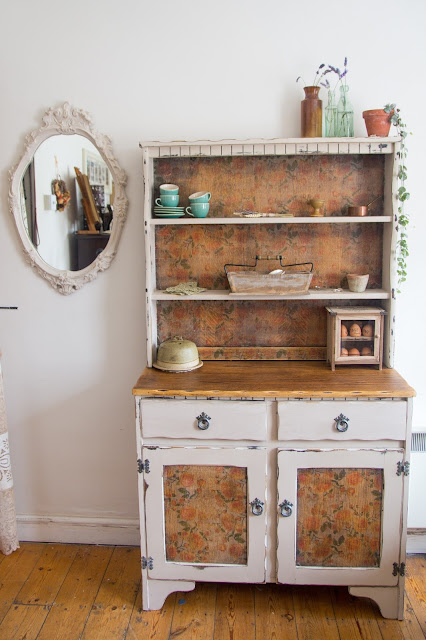 Up-cycled Welsh dresser