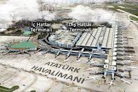 Atatürk Hava alanı iç ve dış hatlar terminalleri