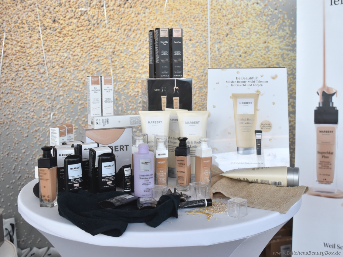 Beautypress Bloggerevent Juli 2017 - Marbert Foundation und DD Cream