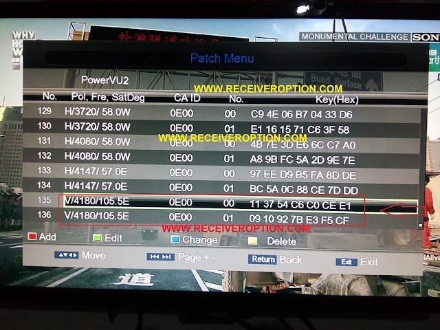 NEWMAX 774 MINI HD MUSIC EXPRESS POWERVU KEY OPTION