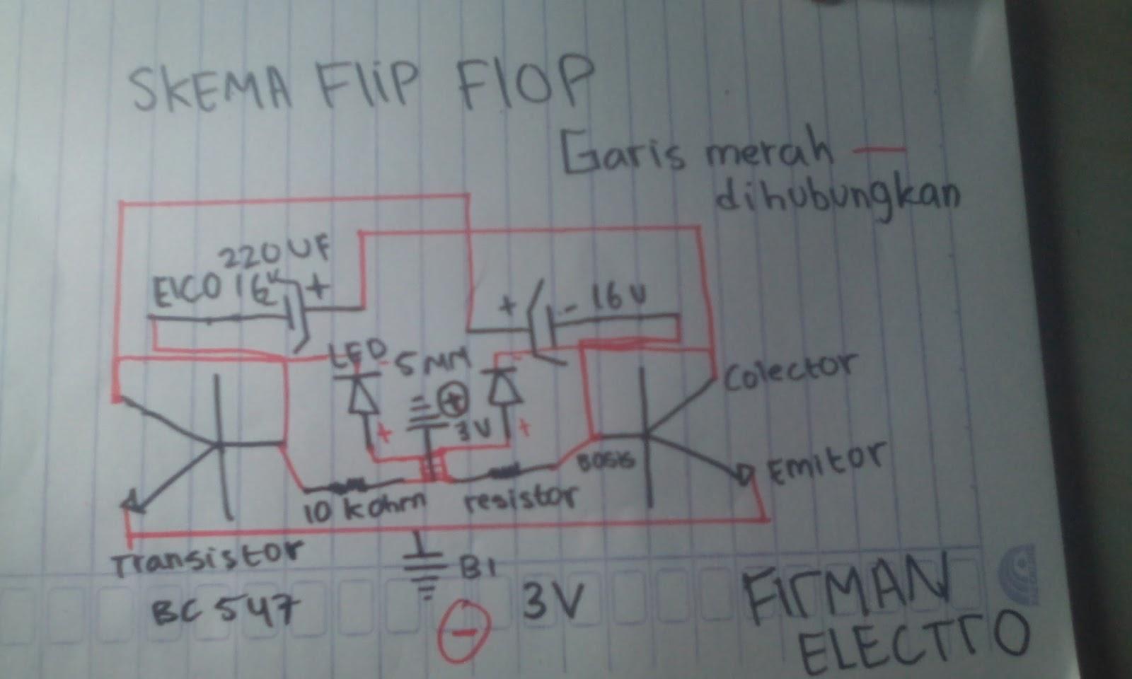 Cara Membuat Lampu Led Flip Flop 3v Tanpa Jalur Pcb Firman Electro