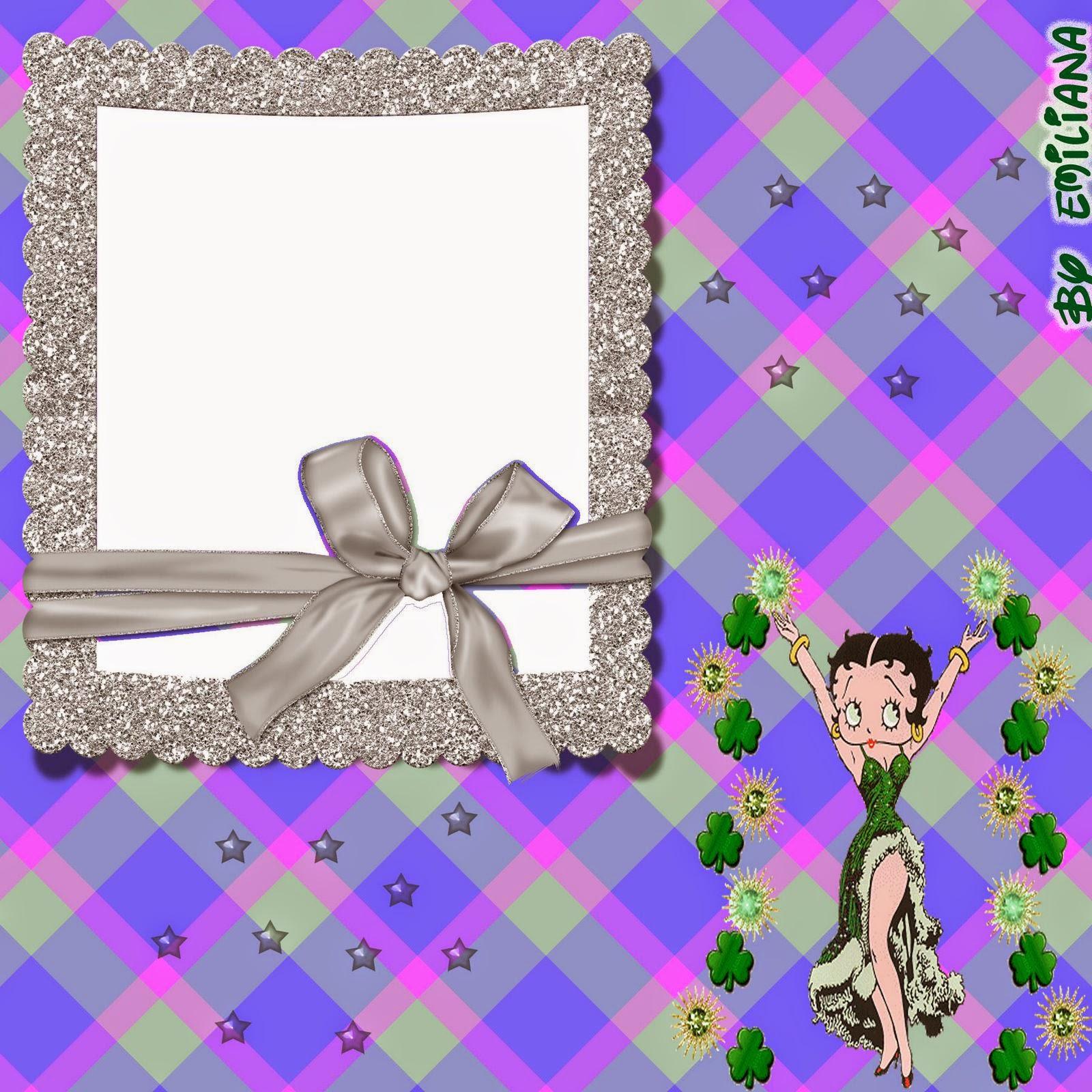 Betty Boop Invitaciones o Tarjetas para Imprimir Gratis. | Ideas y ...