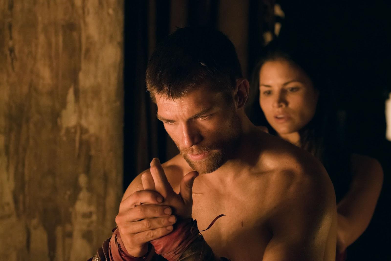 spartacus meleg szex jelenetek