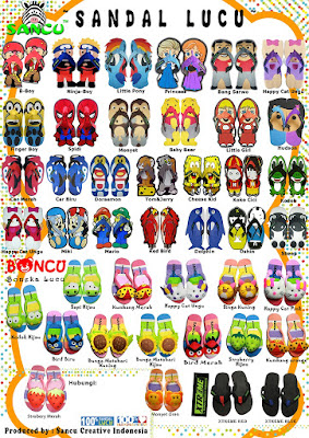 Grosir Pabrik Sandal Sancu Boncu