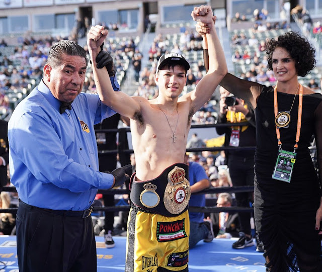 Brandon Figueroa WBA interim Junior Featherweight champion