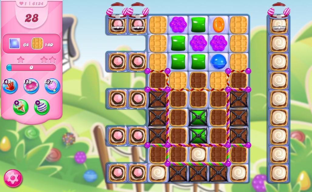 Candy Crush Saga level 6124