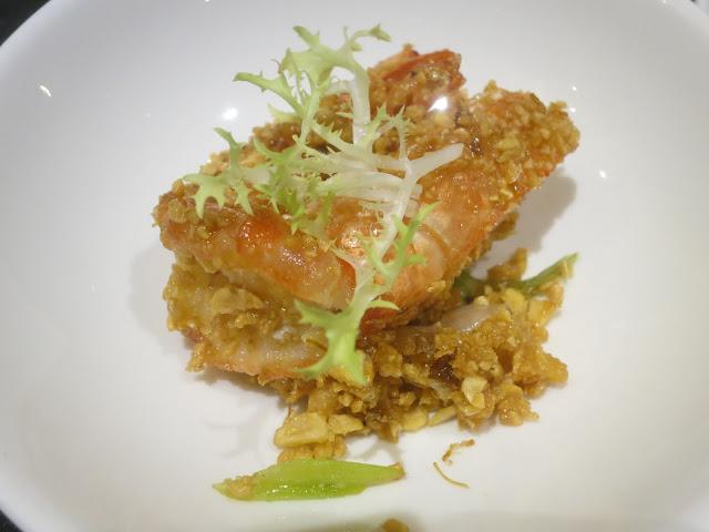 香蜜桂花虾