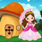 G4K Cute Princess Escape From Fantasy House Game
