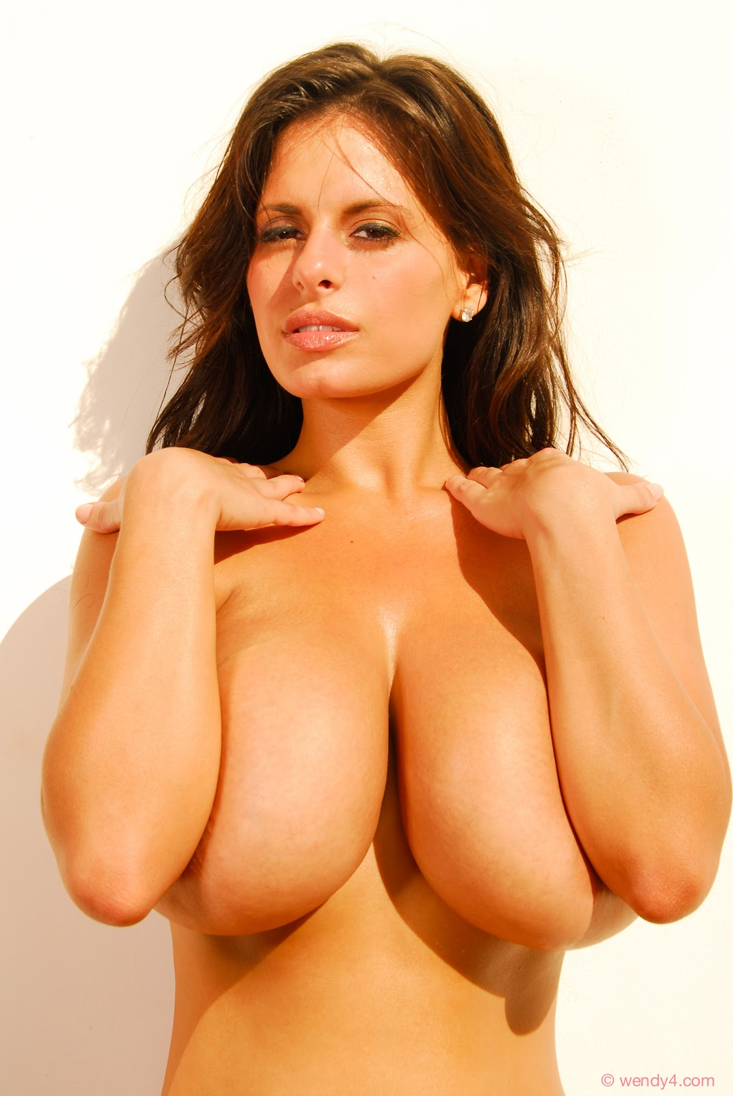 image Candids busty girl huge tits tight gray top
