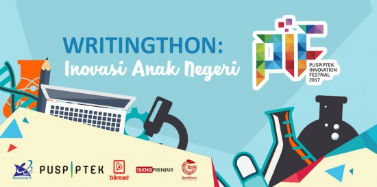 Poster Writingthon Competition. Gambar dari Internet