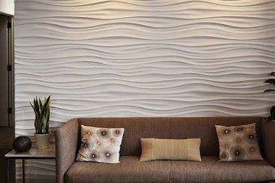 Modern 3d gypsum wall panels installation, 3d gypsum panels for living room 2019