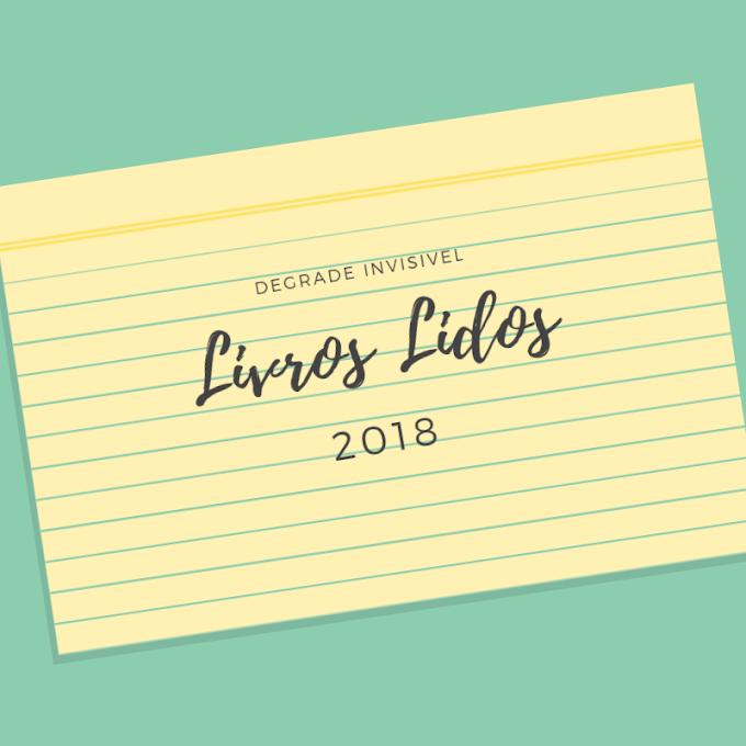Livros Lidos - 2018