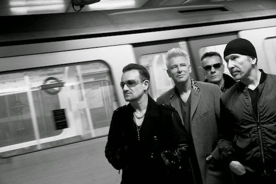 U2 Songs of Innocence era photo