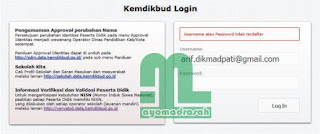 Gagal Login Verval PD