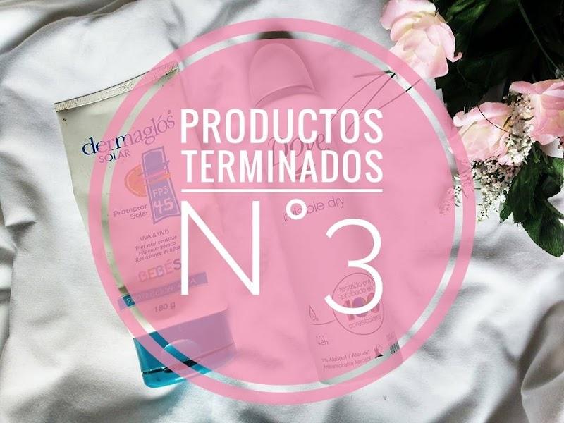 PRODUCTOS TERMINADOS N°3