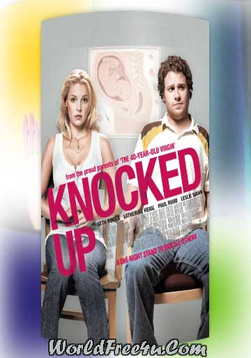 Poster Of Knocked Up (2007) In Hindi English Dual Audio 300MB Compressed Small Size Pc Movie Free Download Only At worldfree4u.com