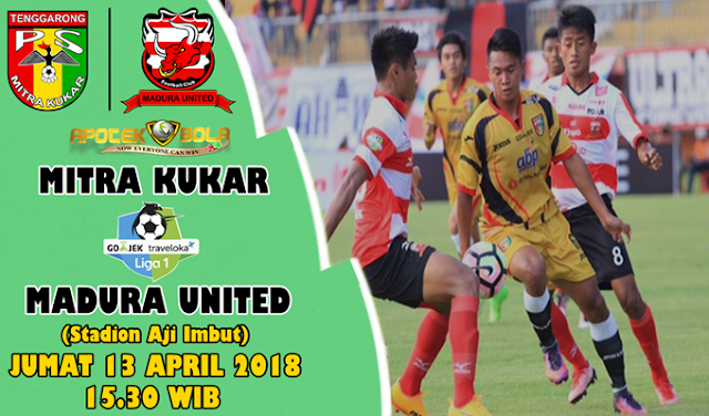 Prediksi Mitra Kukar vs Madura United 13 April 2018