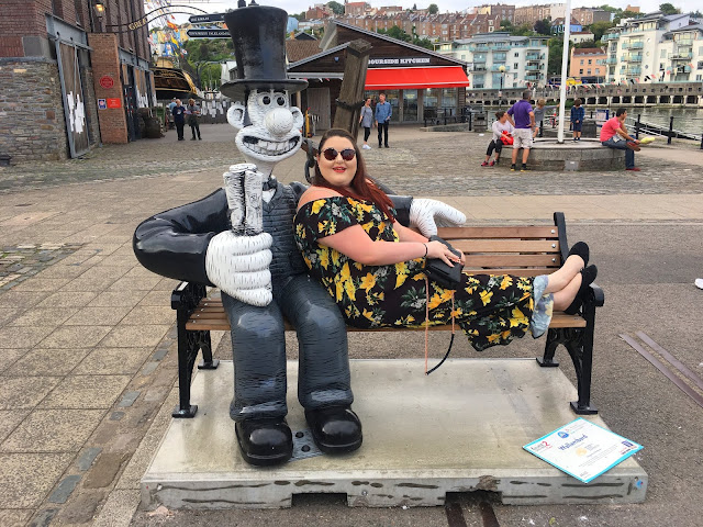 Gromit Unleashed 2 Trail Bristol Plus Size Fashion and Travel Blogger