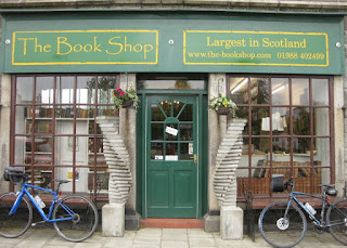 Front of The Book Shop, Wigtown, Scotland