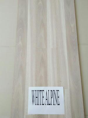 lantai parket eazyfloor type white alpine