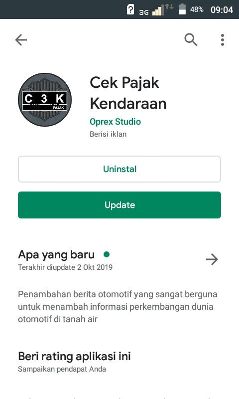 gambar cara cek pajak kendaraan Jakarta