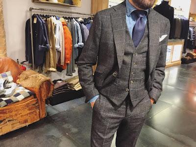 estilo, elegancia, traje, traje cruzado, cuadros, Tendencias, tendencias de estilo, moda masculina, blog moda masculina, otoño 2017, ermenegildo zegna, Robert De Niro, Lander Urquijo,