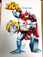 Bandai The Tick action figure concept art