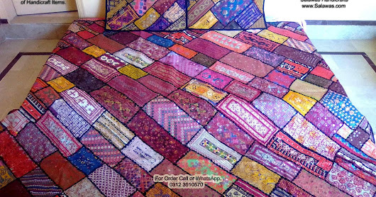Sindhi Antique Traditional Bed Sheets