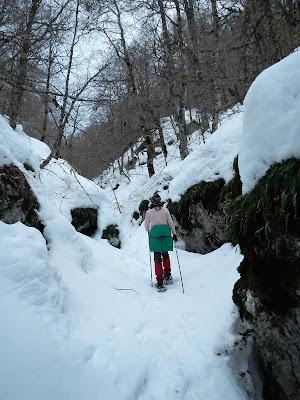 Escursione su neve Pescasseroli