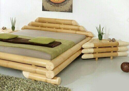 Camas De Bambú Construccion Y Manualidades Hazlo Tu Mismo