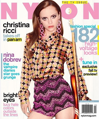 Christina Ricci Makes A Groovy Splash On The Latest Cover Of Nylon Magazine!